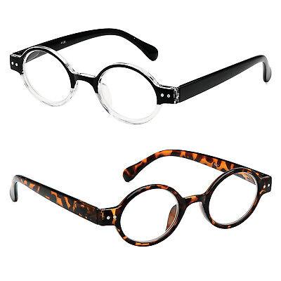 Readers Lightweight Round John Lennon Vintage Style Reading Glasses (Mens Reading Glasses Round)