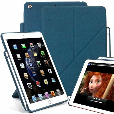 KHOMO iPad 9.7 Inch  Case with Pen Holder - DUAL ORIGAMI Ser