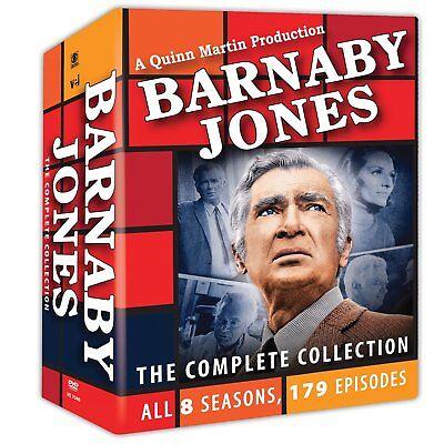 30Disc Barnaby Jones Complete Collection 8 Seasons 179 Episodes Buddy Ebsen DVD1