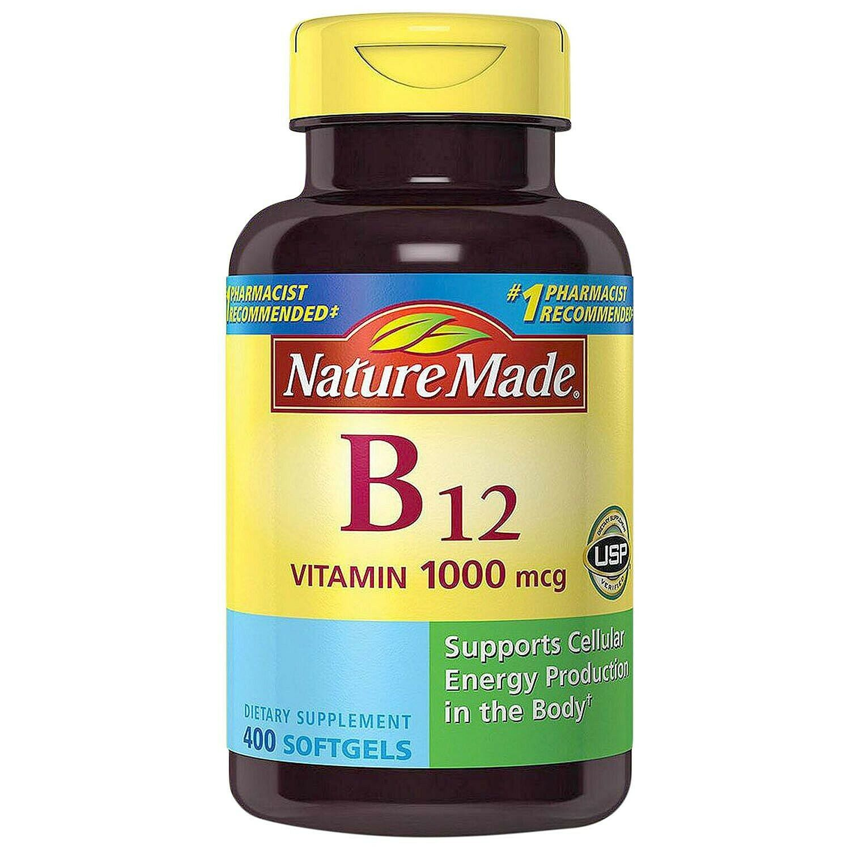 Complejo Vitamina B-12 En Pastillas Vitaminas Para La Falta De Energia Cansancio