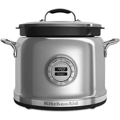 KitchenAid KMC4241SS Electric Multi Steamer Slow Cooker, 4 Q