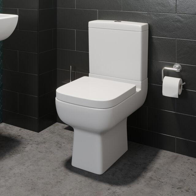 Wc Modern clone of coupled bathroom toilet modern white square ceramic
