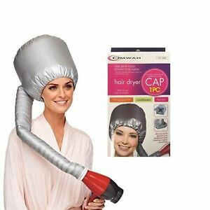 Portable Soft Hair Drying Cap Bonnet Hood Hat Blow Dryer Attachment OMWAH