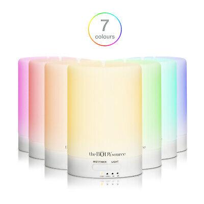 Difusor de Aceites Esenciales 100ml. con LED de 7 Colores Diferentes