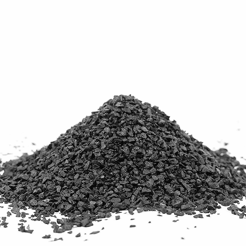 RETNE Natur Schwarz Basalt Aquarium Kies Bodengrund   Körnung 1-3mm