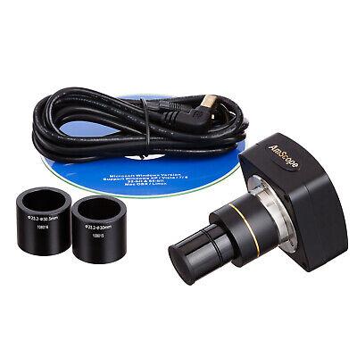 Amscope 8mp Microscope Camera Usb 2.0 Live Video Stills Windows Mac Software