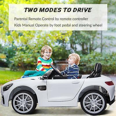 Kids Ride On Car Licensed Mercedes Benz Electric Car Remote Control 2 Seater 12V
