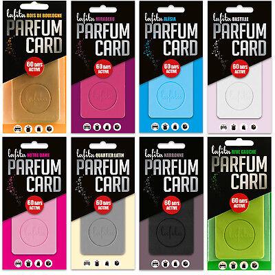 Lafita Parfüm Card Lufterfrischer Raumduft für Auto etc. - Neu ()