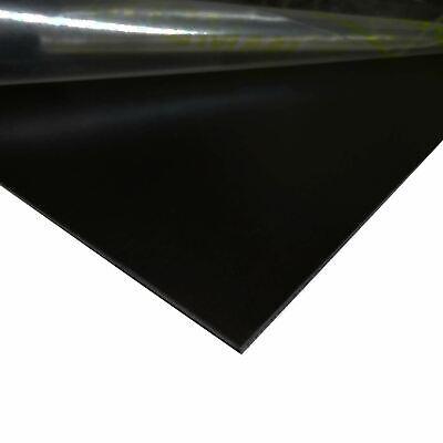 Black Painted Aluminum Sheet 0.040 X 24 X 48
