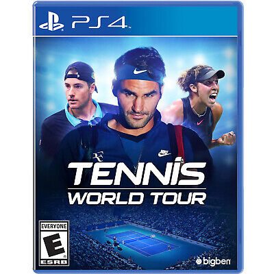 Tennis World Tour PS4 [Factory Refurbished]