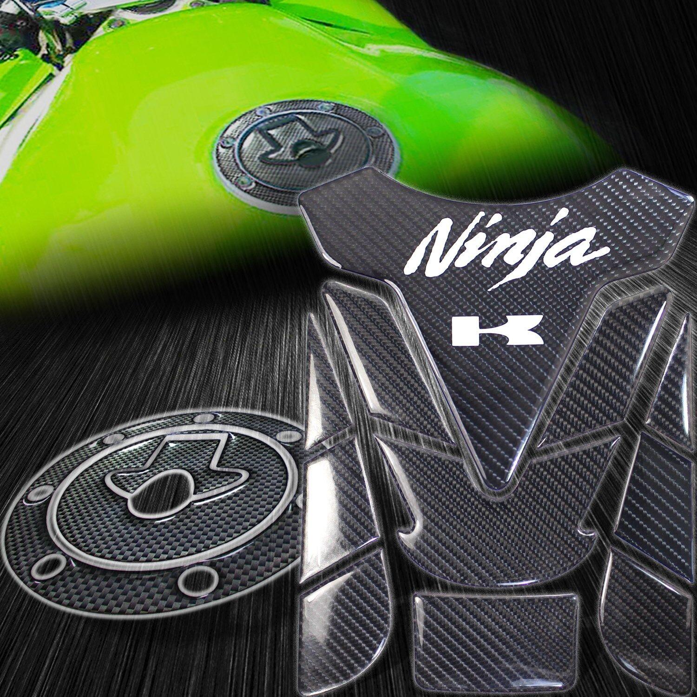 KAWASAKI NINJA ZX-6R// ZX600 95-97 Carbon Fiber Effect Yoke Protector Cover Decal