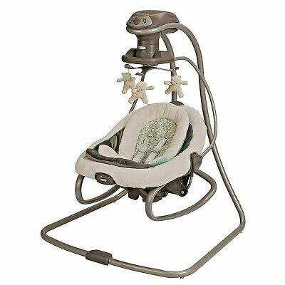 New Graco DuetSoothe Baby Swing + Rocker, Winslet