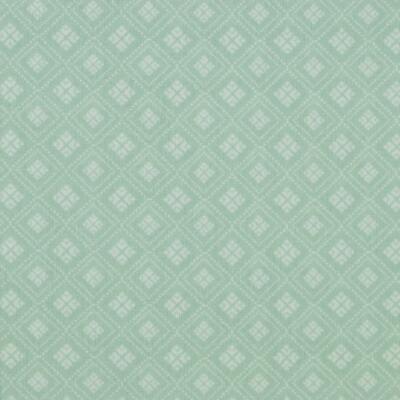 Tela de Algodón Menta Con Blanca Rombos Modestoff (Precio = 0,5m)
