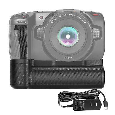 HM Battery Grip Compatible with Blackmagic Pocket Cinema Camera