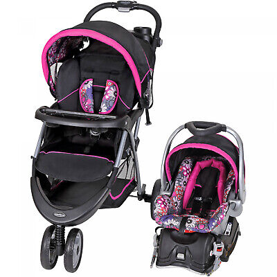 Baby Stroller and Car Seat Combo Walking 4 Mom Girl Travel S