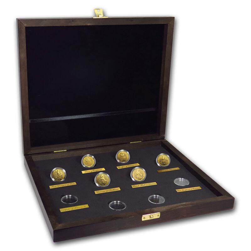 2016-2019 Great Britain 6-coin 1/4 Oz Gold Queen