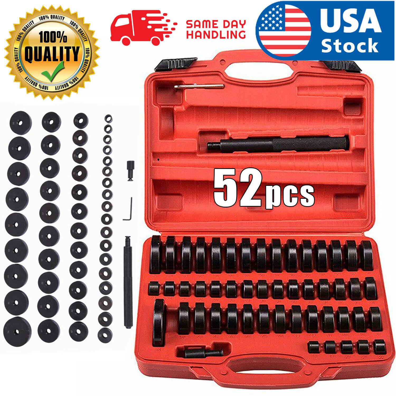 52 pcs Wheel Bearings Replacing Custom Bushing Driver Set Axle Seal Installer Automotive Tools & Supplies