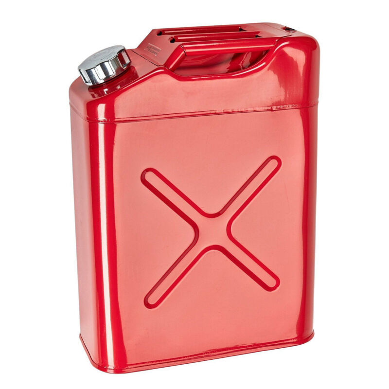 HFS(R) 20L Red Jerry Empty Gas Can