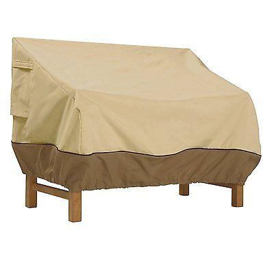 Classic Accessories Veranda Patio Bench Loveseat Cover Waterproof -- New