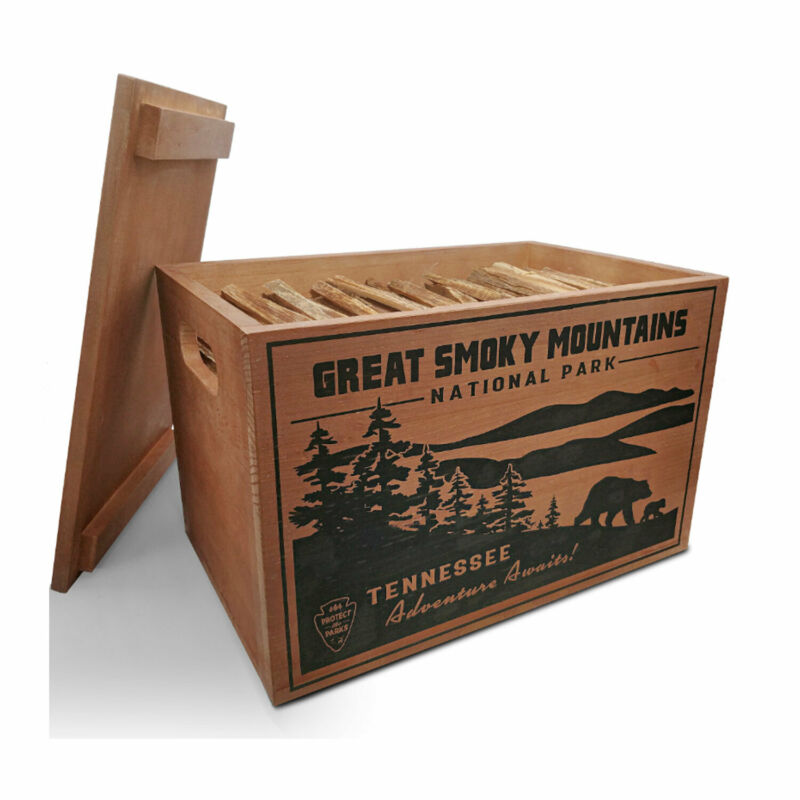 Better Wood Products Protect the Park Fatwood Firestarter, Great Smoky Mountains
