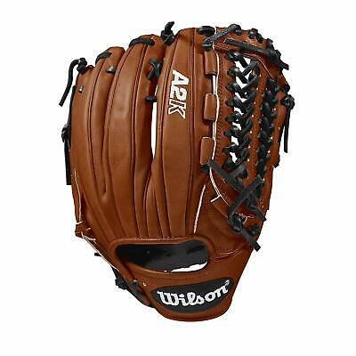 Wilson WTA2KRB18D33 RHT A2K D33 Baseball Pitcher Glove 11.75 Righty 11.75 Pitchers Glove