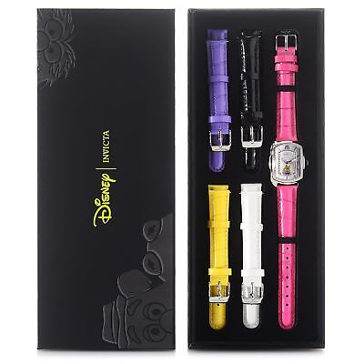 New Womens Invicta 25891 Miss Piggy Baby Lupah w/ 5-Piece Leather Strap Set