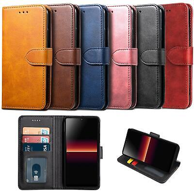For Sony Xperia L4 Case Leather Wallet Protection HeavyDuty Book Cover Magnetic