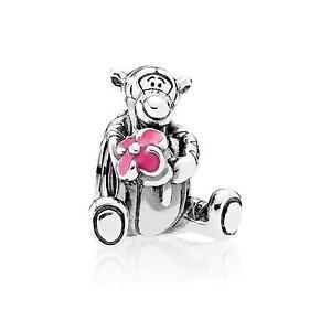 2017 Authentic Pandora DISNEY Tiger Pink Enamel Charm 792135EN80