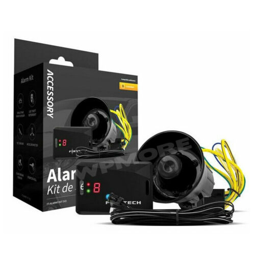 Compustar FT-AlarmIt-Kit V2 Alarm Upgrade Kit Add On with LED Siren & FT-DAS-II