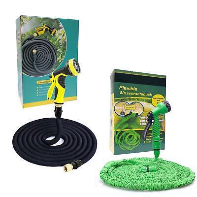 Flexibler Gartenschlauch Wasserschlauch Flexischlauch Brause flexibel dehnbarer
