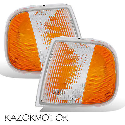 97-03/02 Replacement Corner Park Signal Light Set For Ford F150/Expedition Pair 02 Ford Expedition Corner