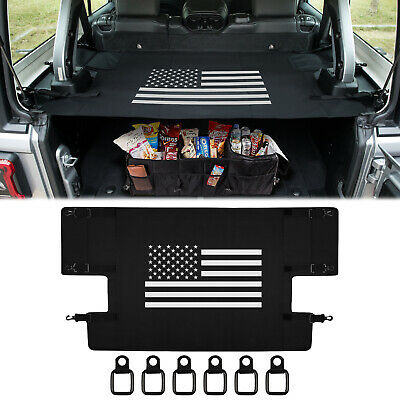 Cargo Cover Shield Pad Trunk Protector Shade for Jeep Wrangler JL JLU 2018 2019