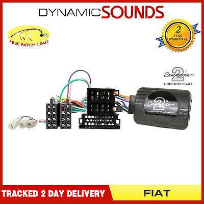 Steering Wheel Stalk Control Interface Adaptor Lead for Fiat Ducato