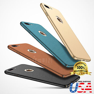 Ultra-thin Sandstone & Smooth Slim Hard Skin Case Cover Fits Apple (Hard Plastic Skin Case)
