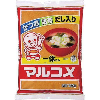 Marukome Miso soup. Bonito, kelp, soup containing.750g. Free shipping