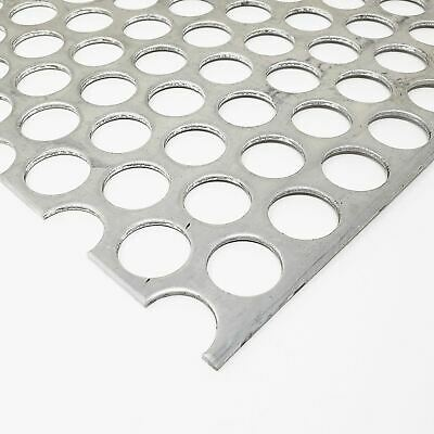 Aluminum Perforated Sheet 116 X 12 X 24 14 Holes 516 Centers