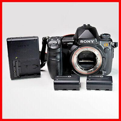 15400 shutter counts, Sony a850 Digital SLR Camera