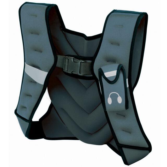 Tunturi Neoprene Weighted Fitness Gym Vest - 5kg