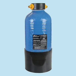 11.7Litre DI Resin Vessel Filled With Mixed Bed DI Resin, Fittings Also Included