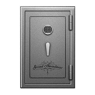 Fireproof Safe Storage Vault Cabinet fr Gun Ammo Pistol  w/ Keypad Lock 30x20x20