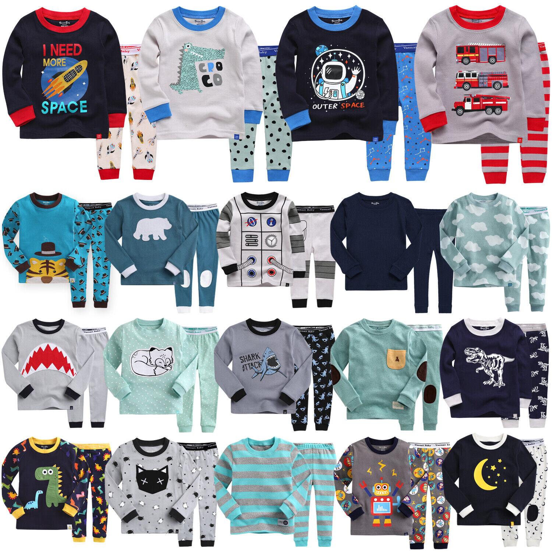 """40Style"" Vaenait Baby Top+Pants Toddler Boys Pjs Long Pajam"