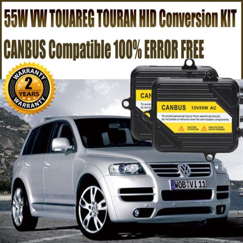 FOR VW TOUAREG TOURAN H7 XENON HID CONVERSION KIT CANBUS ERROR FREE NO FLICKER