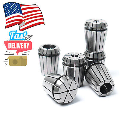 6pc Er32 Spring Collet Set For Cnc Milling Lathe Engraving Machine In Usa