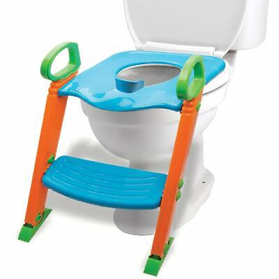 Potty Toilet Training Seat w/ Non-Slip Stepladder & Easy-Gri