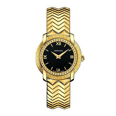 Versace VAM050016 Women's DV25 Gold-Tone Quartz Watch