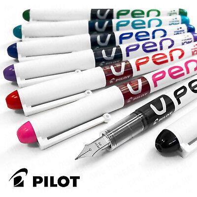 Pilot V Pen - Disposable Erasable Fountain Pen - Assorted 7 Pack
