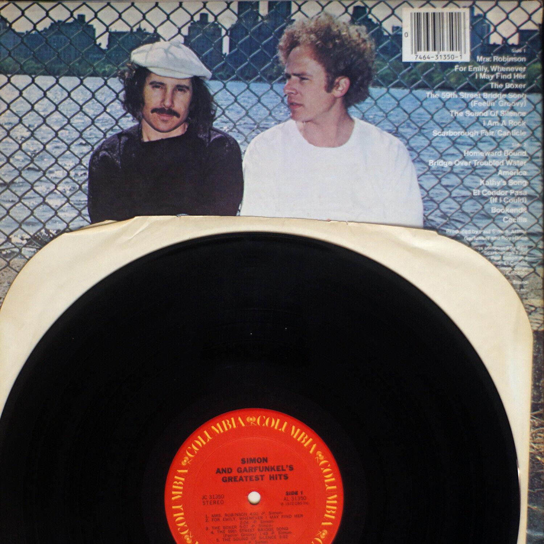 Simon Garfunkel - Greatest Hits REISSUE EX/EX 2x 07-1556 Vinyl LP - $15.00