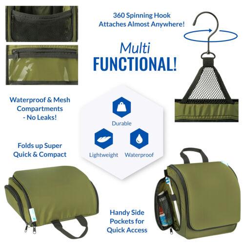 Premium Travel Hanging Toiletry Bag for Men and Women 2