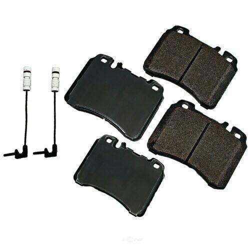 Disc Brake Pad Set-Euro Ultra Premium Ceramic Pads Front Akebono EUR1342