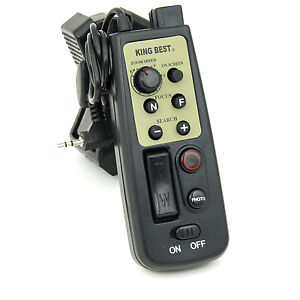 eBenk-LANC-Zoom-Tripod-Controller-Remote-for-Canon-amp-Sony-Camcorders-with-LANC